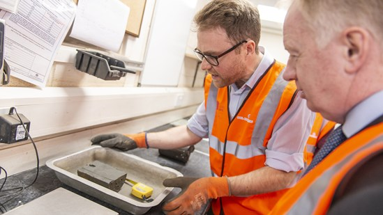 Business booms for Leeds-based company thanks to HS2 contracts: Soil analysis lab