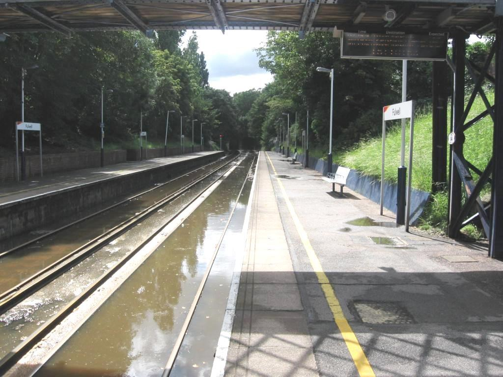 Railway upgrade to address recurring flooding problem in Fulwell: Fulwell flooding - Image 1