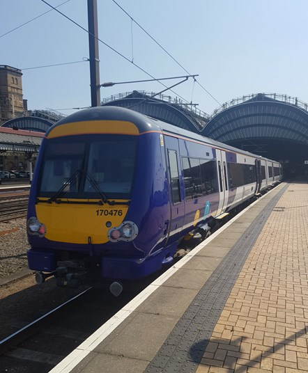 Northern boosts services between Hull and Bridlington: 170 refurb 1