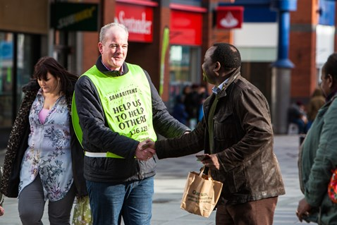 Samaritans We Listen Wellbeing 1