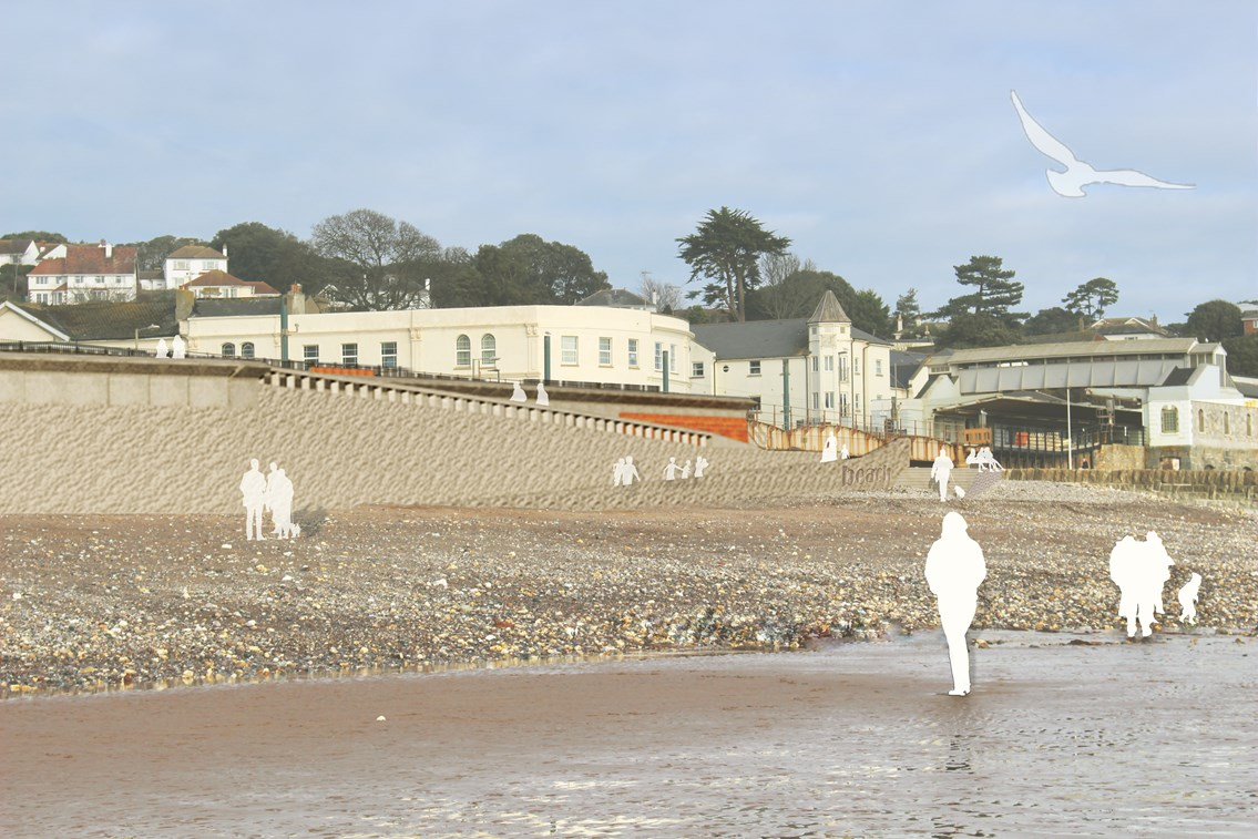 Dawlish sea wall render image 3