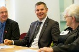 Derek Mackay visits Glasgow Central Citizens Advice Bureau