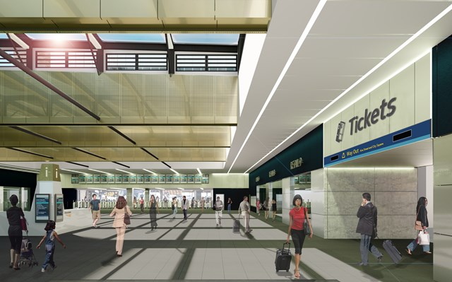 Latest stage of investment at Leeds station will see new gateline installed 2