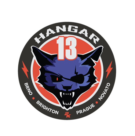 2K and Hangar 13 Expand Global Development Team with New Location in Brighton, UK: Hangar 13 Logo