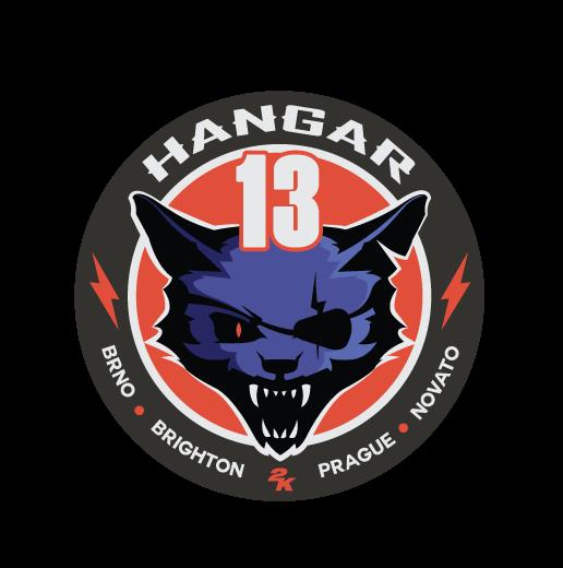 2K and Hangar 13 Expand Global Development Team with New Location in Brighton, UK: Hangar 13 Logo