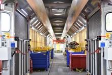 The MMT provides spacious and safe conditions for track workers