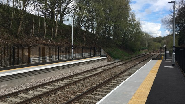 More space for trains and passengers at Ribble Valley line station: Ramsgreave and Wilpshire station platforms 2021