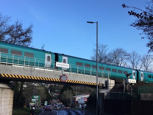 Milford Road railway bridge (2)