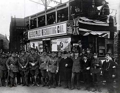 Leeds commemorates the centenary of the Battle of the Somme: leedspals.jpg