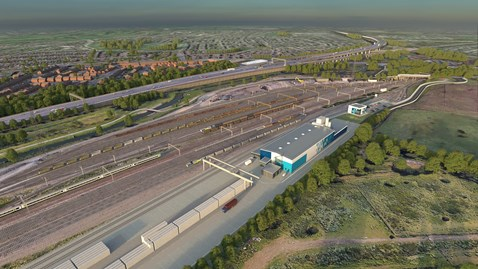 Opportunity to view revised proposals for a new railway sleeper facility in Bescot: Bescot Sleeper Facility