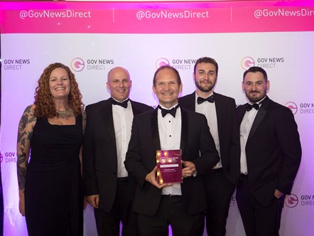 NHS Business Services Authority wins top award: Awards pic