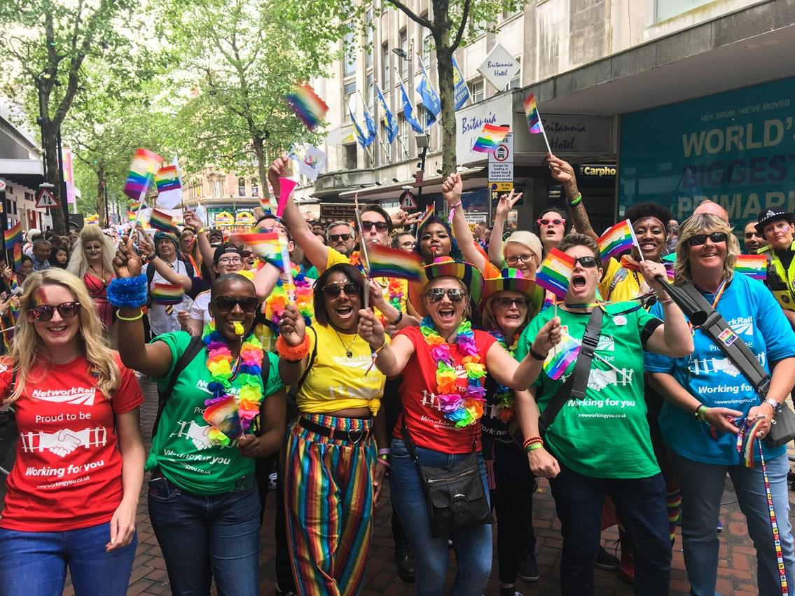 Network Rail celebrates LGBT Pride Month with Rail Pride Fest event: NR LGBT Pride 2019