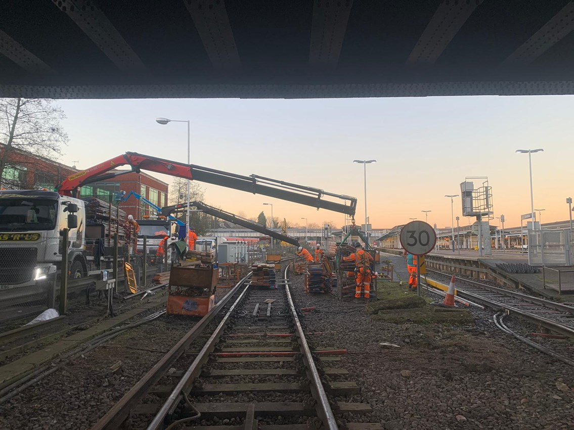 Passengers reminded to check before travelling during Early May bank holiday rail improvement works: Guildford track works