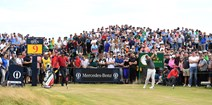 The 147th Open at Carnoustie won by Francesco Molinari