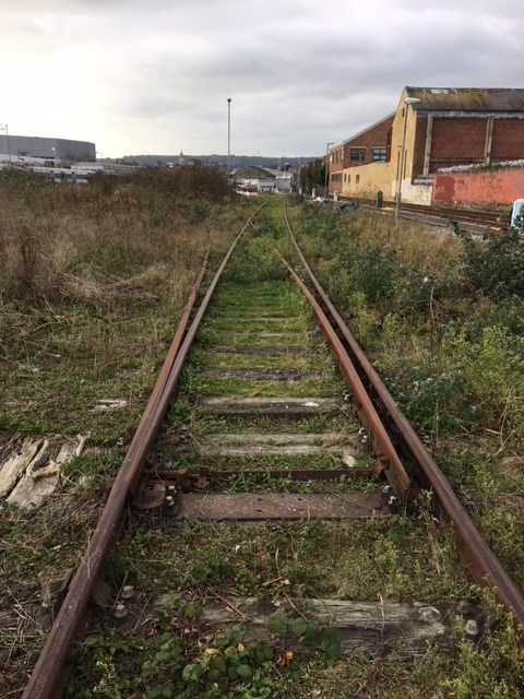 Eastbourne siding before 1