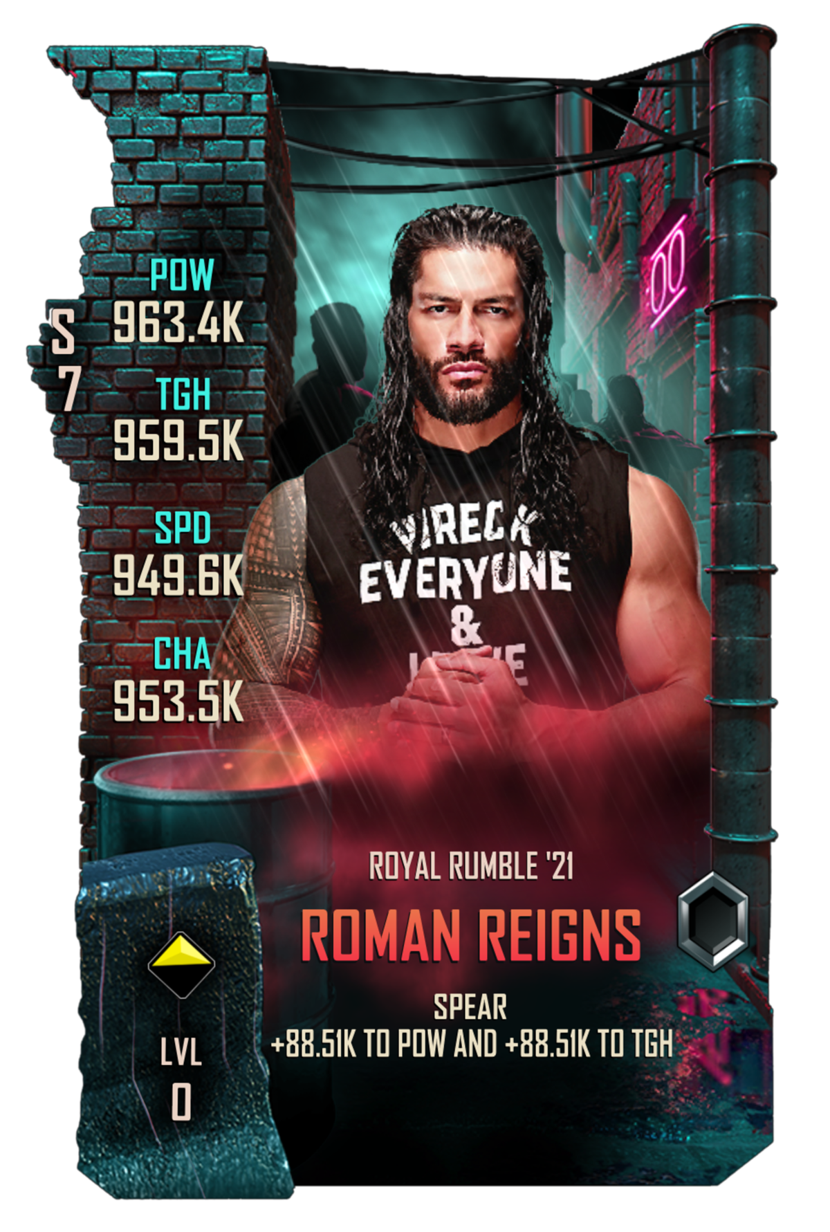 WWESC S7 Roman Reigns Royal Rumble
