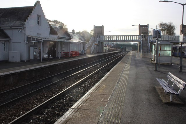Dunblane community can drop-in to find out more about railway work: 17 Nov Dunblane station small
