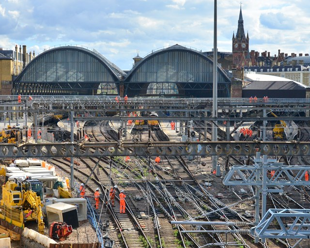 Passengers reminded not to travel to or from London King's Cross this weekend as vital work continues on the £1.2billion East Coast Upgrade