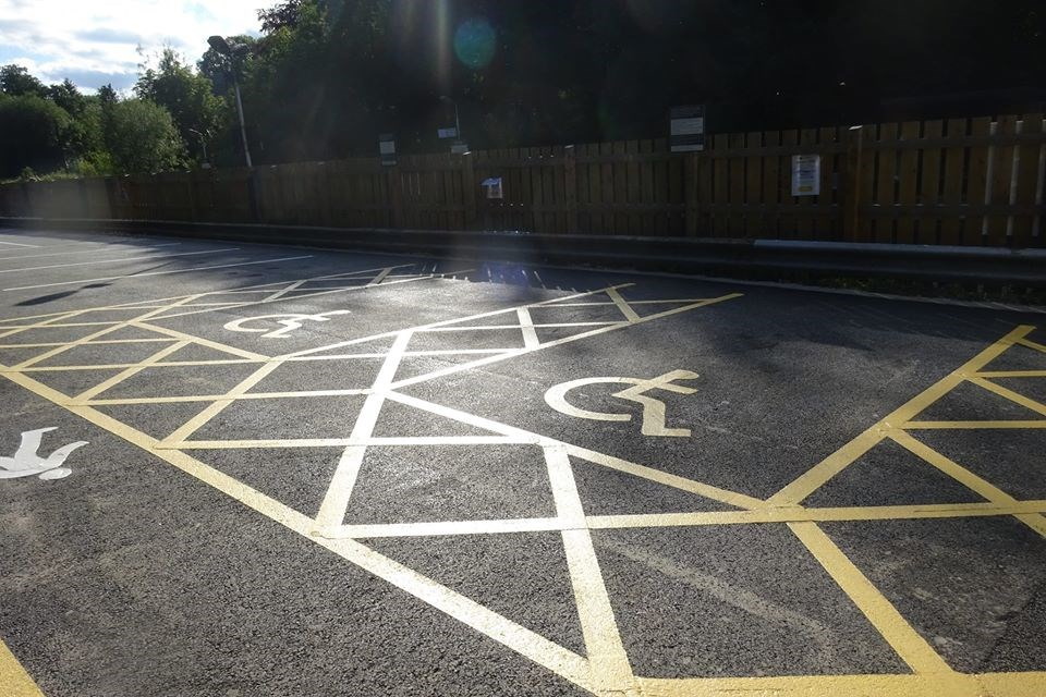 Disley Station Car Park (2)