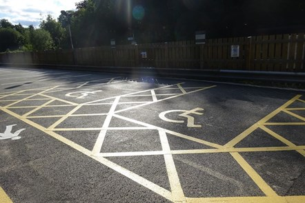 Disley Station Car Park (2)