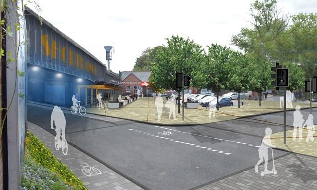 TfL Image - Shortlands Station, Bromley