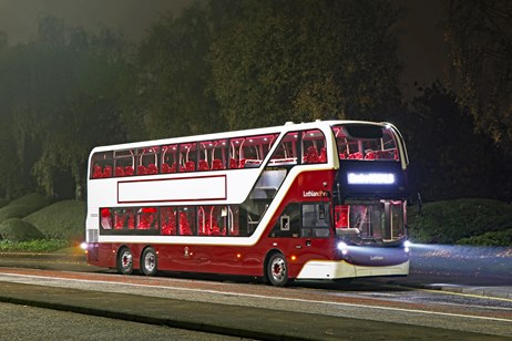 Scottish Enterprise welcomes new Edinburgh buses from Alexander Dennis: enviro400xlb-1