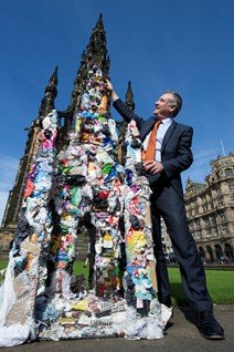 Launch of new national litter strategy for Scotland: © Images by Tony Marsh <a href=