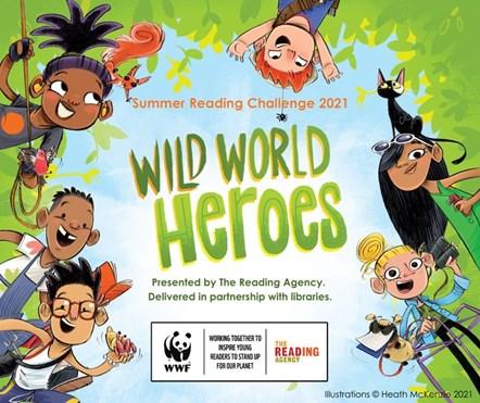 Wild World Heroes - Summer Reading Challenge 2021-2