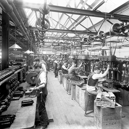 West Midlands company Crabtree celebrates centenary: Crabtree Centenary Photo 1