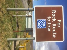 Rock Route Sign © Sue Agnew/SNH