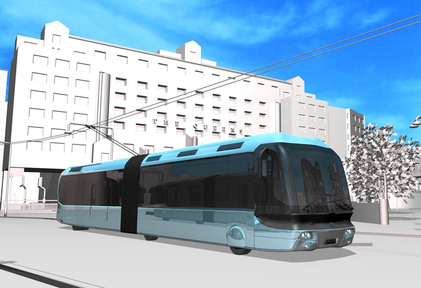 Statement on government rejection of New Generation Transport (NGT) scheme for Leeds: trolleybuscitysquare.jpg