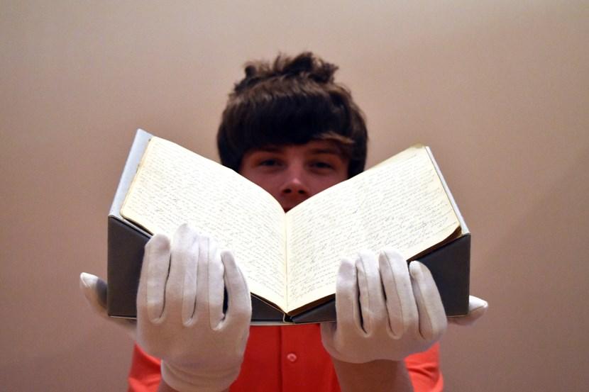 Diary display sees Leeds WW1 prisoner's powerful story retold: dsc-3237.jpg