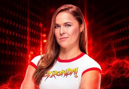 WWE2K19 Ronda Rousey Art
