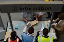 The new information point: The new information point at London Bridge setation