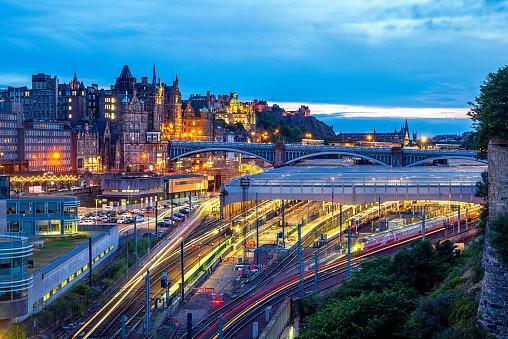 Edinburgh (railway station and city)