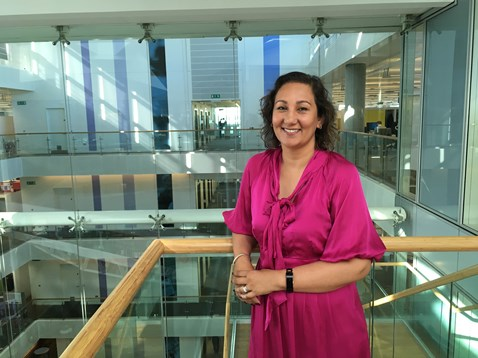Mona Sihota fulfils a new role at Network Rail as the national professional head of ASPRO