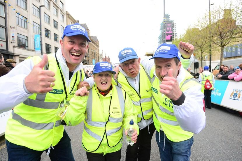 Join the Tour de Yorkshire's band of valued volunteers: tourmakerscredit-swpix.com.jpg