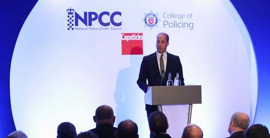 The Duke of Cambridge says there's more to do to help first responders look after their mental health: will (1)