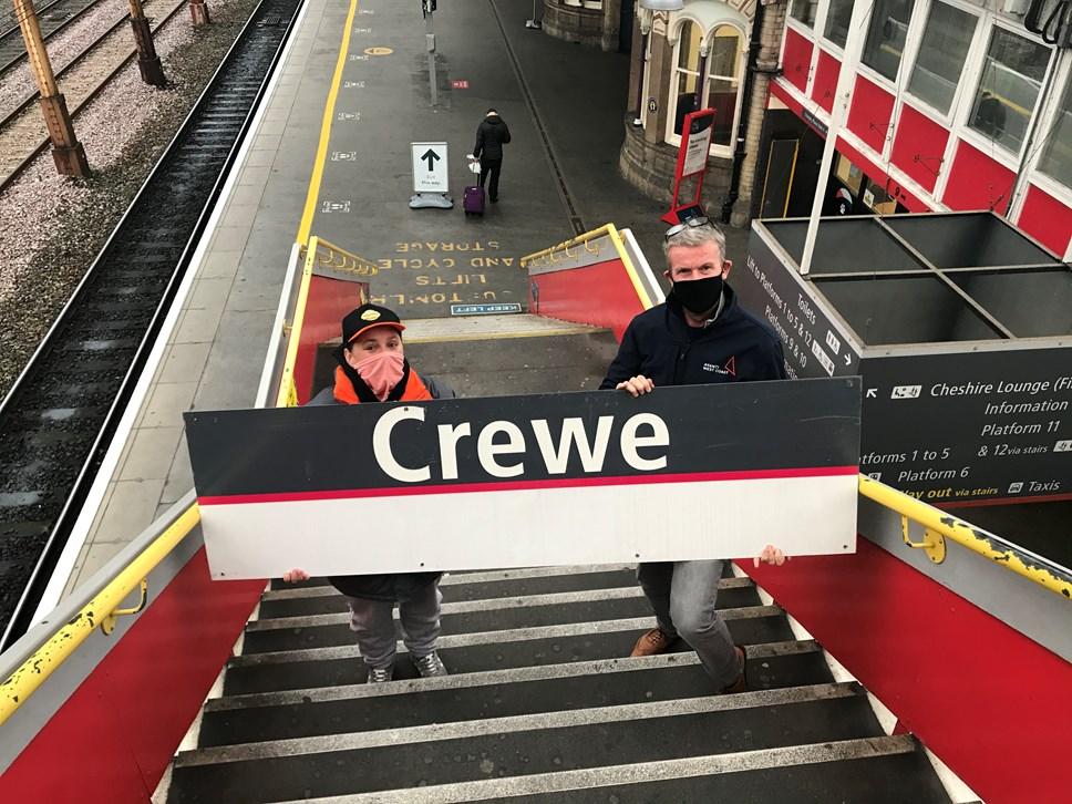 Crewe Station Sign - Winner