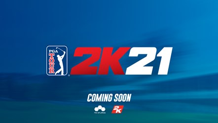 PGA TOUR 2K21 Teaser Art