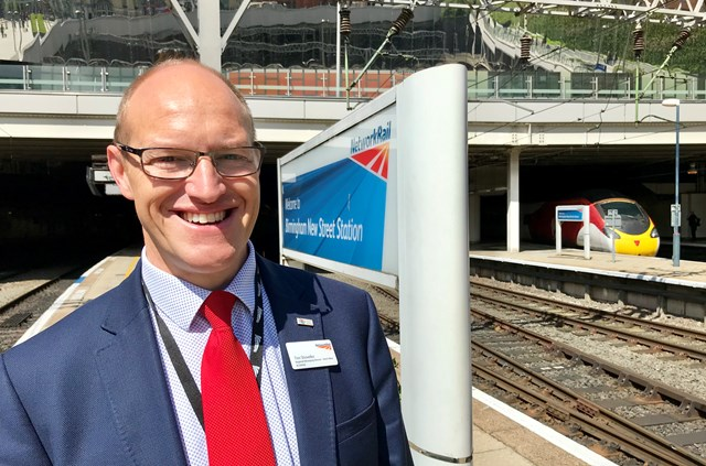 Rebuilding trust is the aim of North West and Central region: Tim Shoveller, Managing director of Network Rail's North West & Central Region