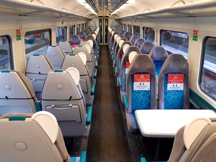 Transport for Wales and British Transport Police reinforce travel advice: seat covers