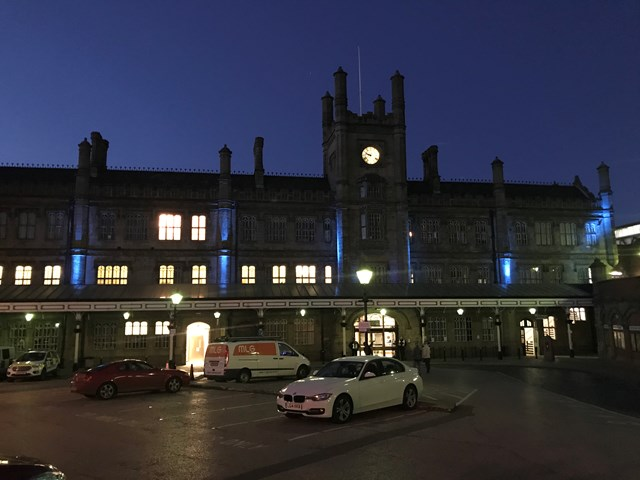 Shrewsbury Station Blue 1