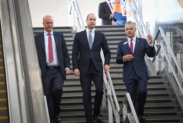 Royal Opening for London Bridge Station which offers a 'Transformation in Passenger Experience': LB Opening 4