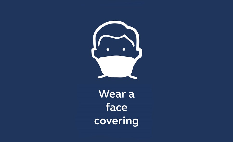 Have you got it covered? Northern asks north west customers: Wear a face covering