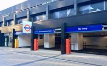 Exterior of new Euston London Underground entrance