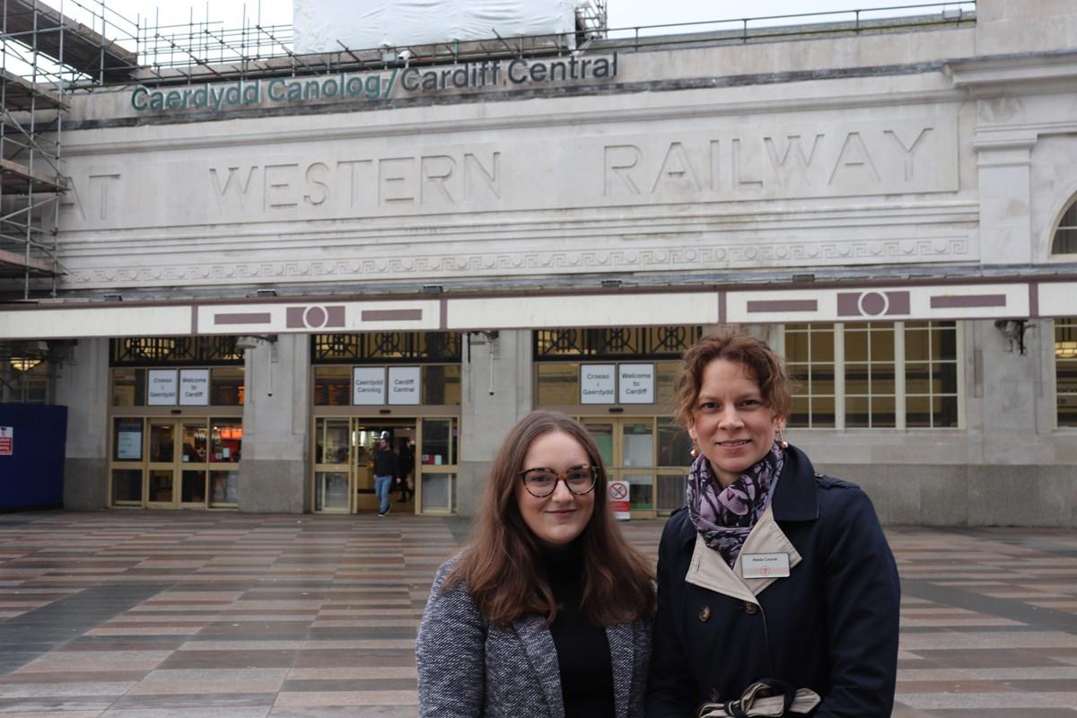 Isobel Owen and Alexia Course