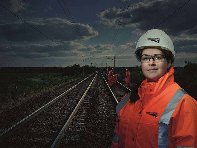 New research highlighting lack of female role models prompts Network Rail to promote inspirational women in engineering on landmark day: Rebecca Grogan, mobile operations manager