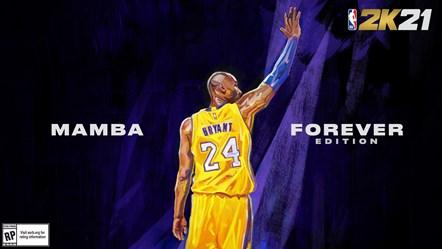 NBA 2K21 - Kobe Bryant Mamba Forever Edition Next-Gen Cover Horizontal