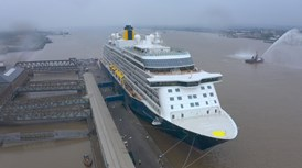 Spirit of Discovery leaves Tilbury on its first cruise since lockdown started in March 2020 (2)